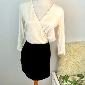 MNG Mango Basics Size S Long Sleeve Mini Dress